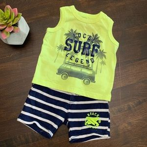 Summer Outfit for boy 9 Months